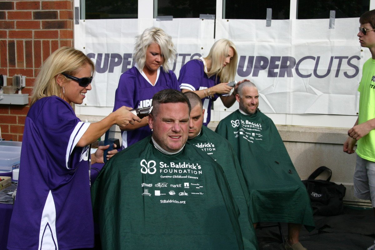 Stylists Doing Good: Head-Shaving for a Cause!